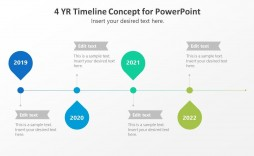 005 Fearsome Timeline Template Pptx Free Highest Quality