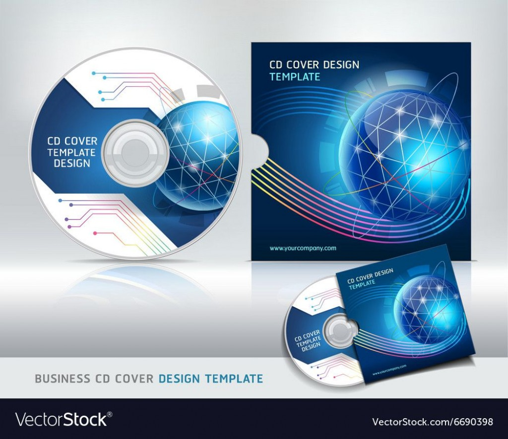 005 Fearsome Vector Cd Cover Design Template Free Large
