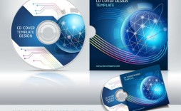 005 Fearsome Vector Cd Cover Design Template Free