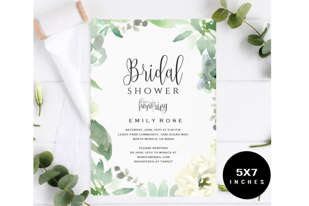 005 Fearsome Wedding Shower Invitation Template Design  Templates Bridal Pinterest Microsoft Word Free ForLarge