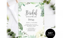 005 Fearsome Wedding Shower Invitation Template Design  Templates Bridal Pinterest Microsoft Word Free For