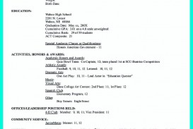 005 Formidable College Admission Resume Template Sample  Microsoft Word Application Download