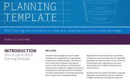 005 Formidable Digital Marketing Plan Example Pdf Highest Quality  Free Template Busines Sample