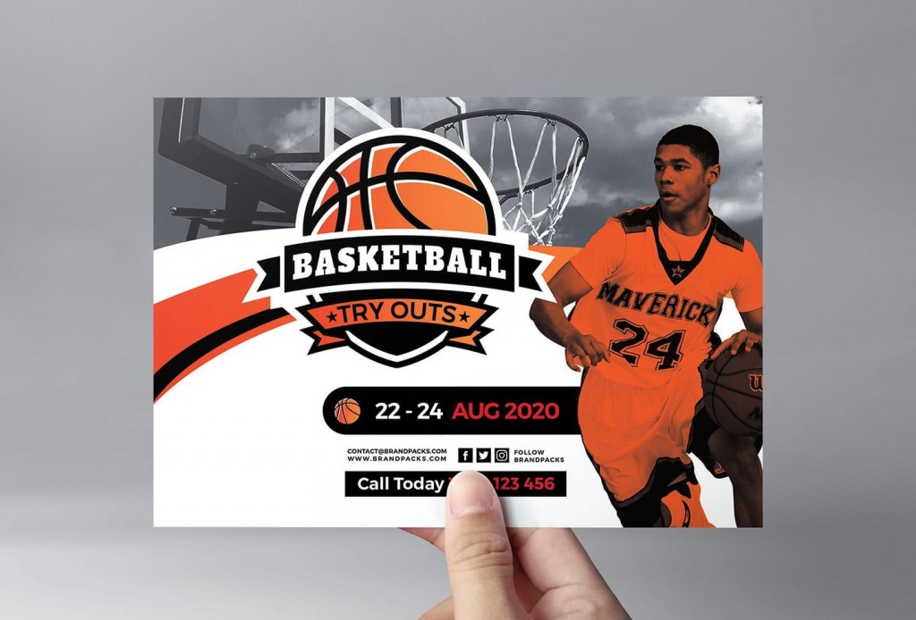 005 Formidable Free Basketball Flyer Template Idea  Game 3 On Tournament WordLarge