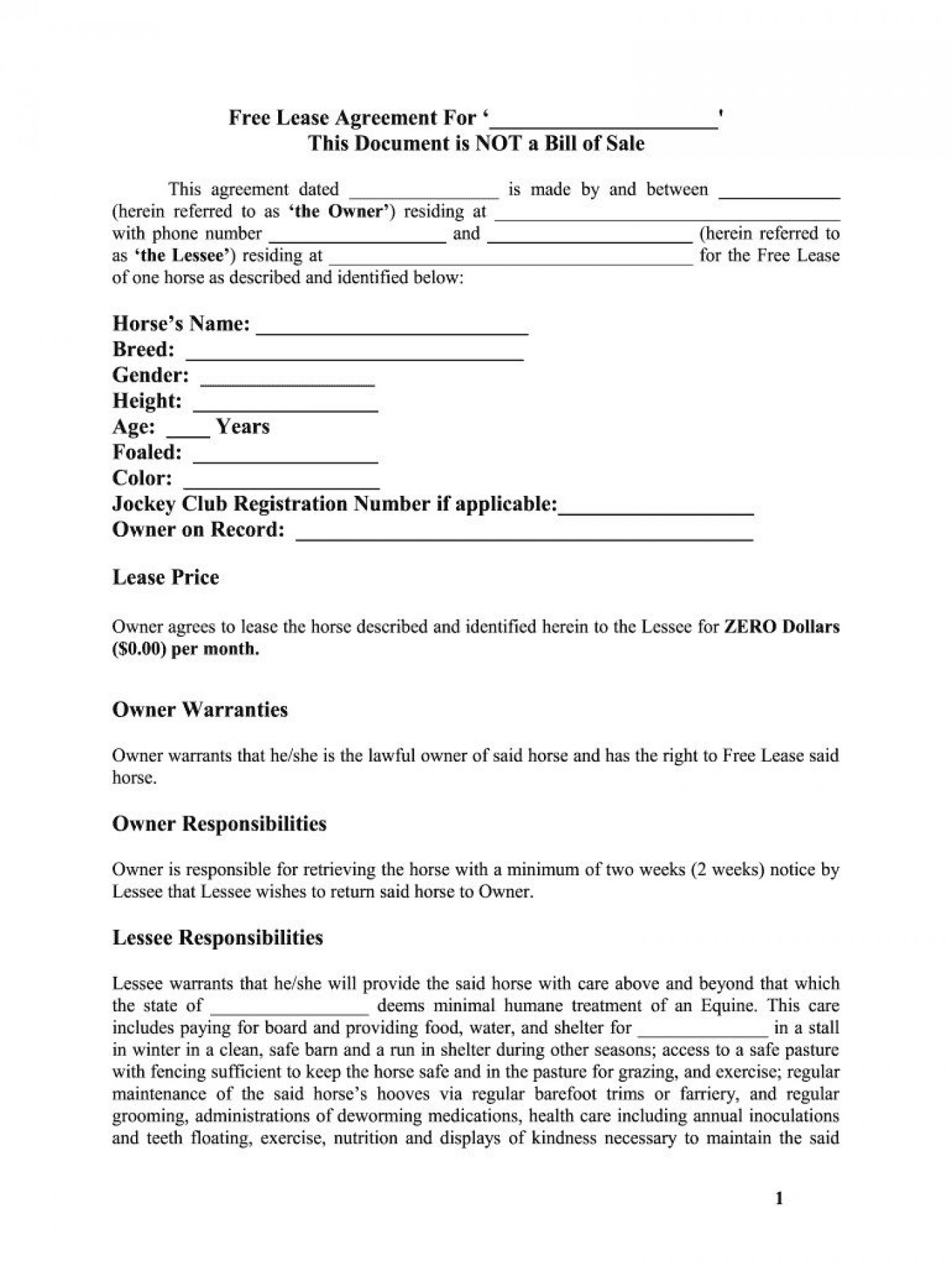 005 Formidable Free Lease Agreement Template Word Design  Commercial Residential Rental South Africa1400