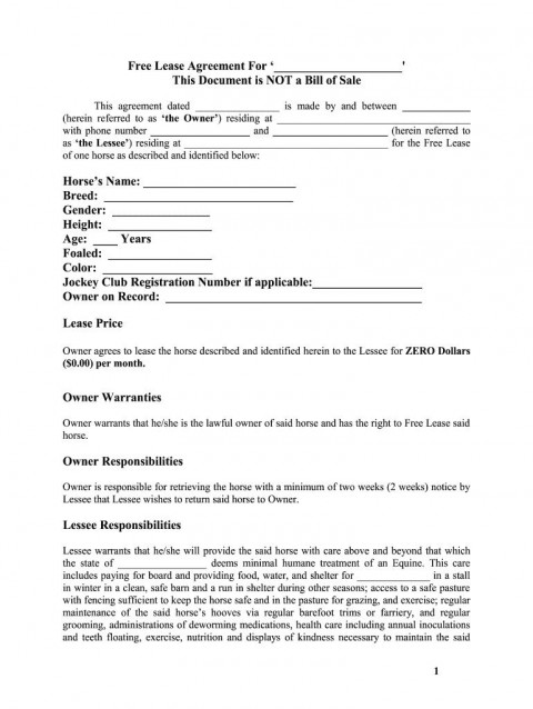 005 Formidable Free Lease Agreement Template Word Design  Commercial Residential Rental South Africa480