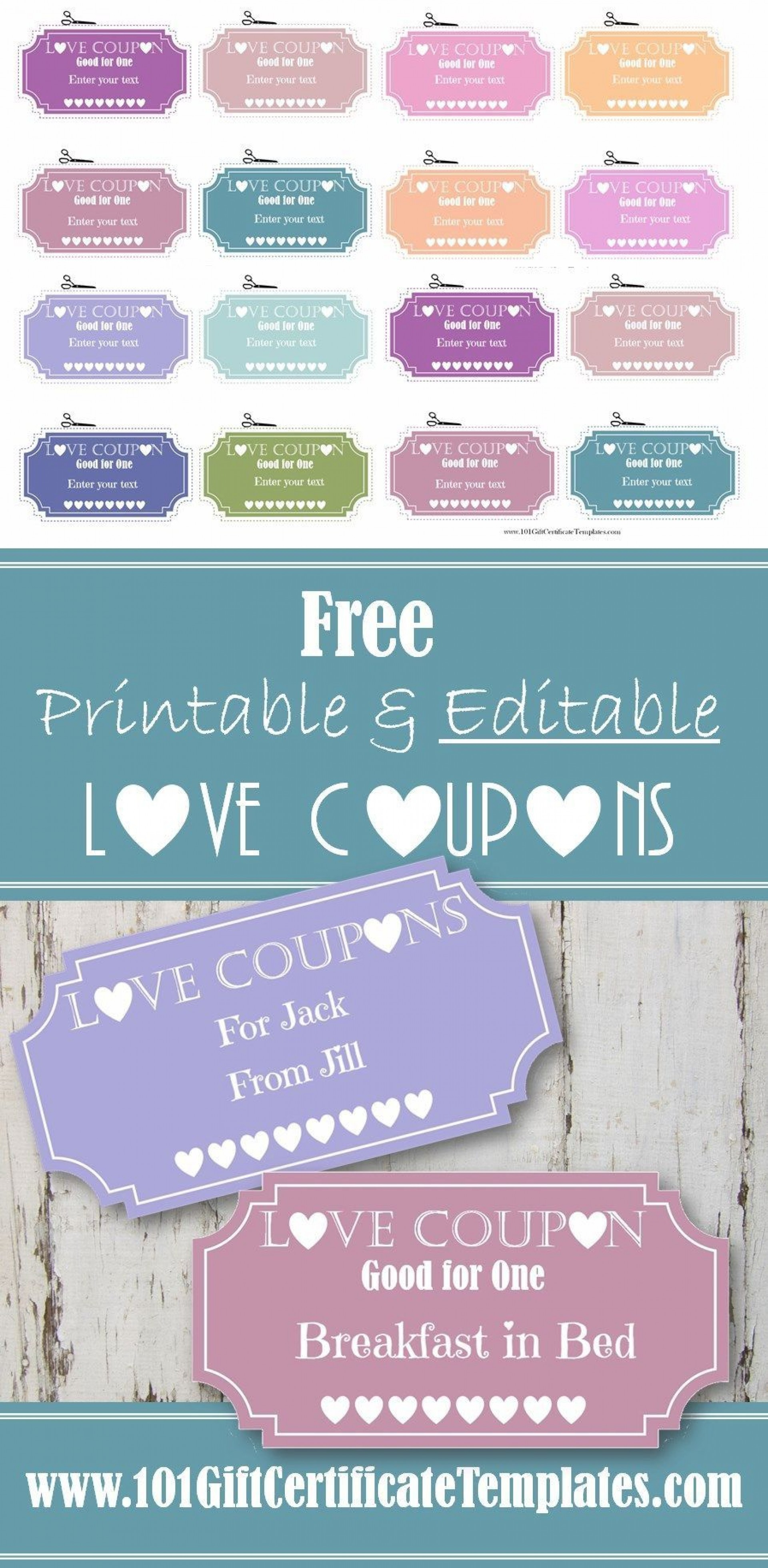Free Printable Coupon Templates Addictionary