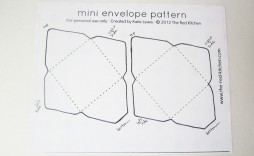 005 Formidable Free Printable Envelope Template Idea  Templates Addres Mini Pattern