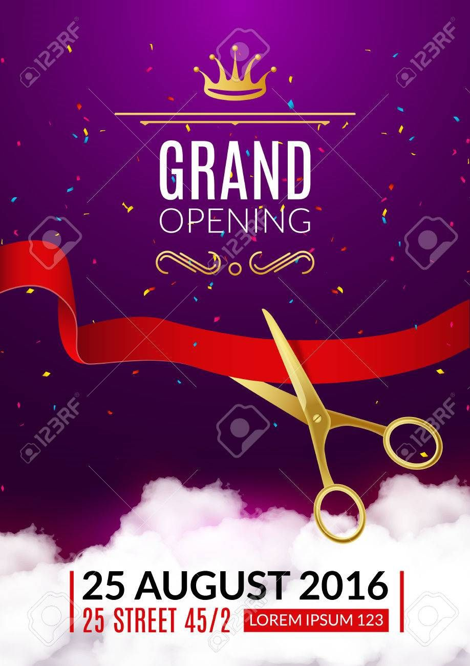 005 Formidable Grand Opening Flyer Template Free High Definition  RestaurantFull