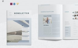005 Formidable Indesign Cs6 Newsletter Template Free Download Sample