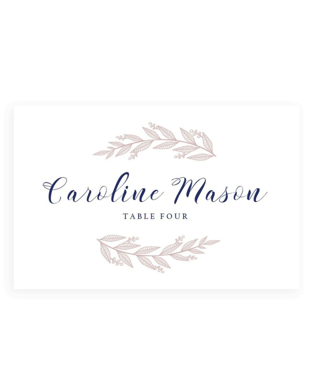 005 Formidable Name Place Card Template For Wedding Highest Clarity  Free WordLarge