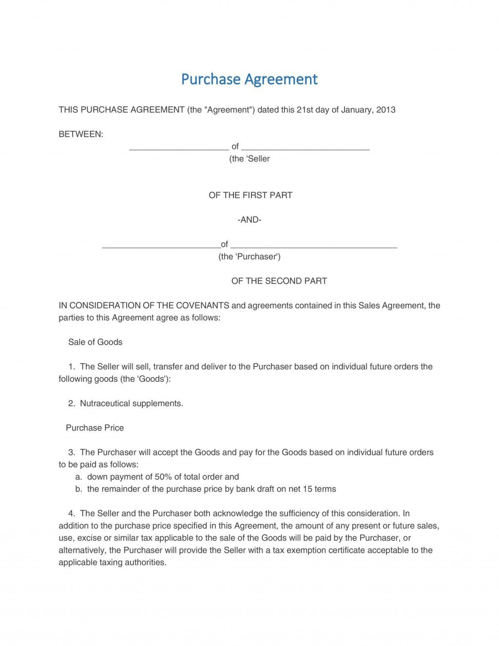 005 Formidable Real Estate Purchase Contract California Free Idea Large