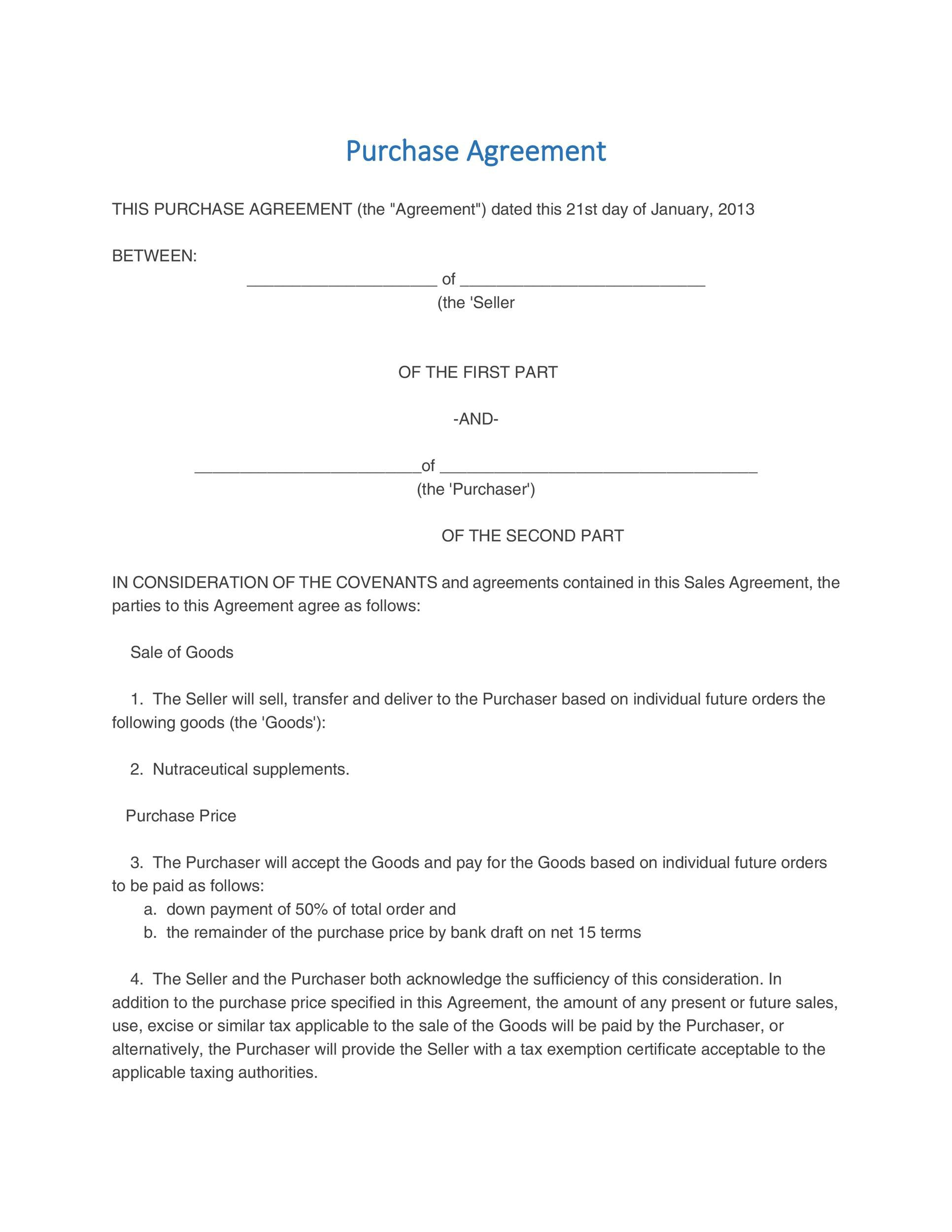 005 Formidable Real Estate Purchase Contract California Free Idea Full