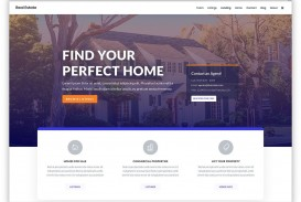 005 Formidable Real Estate Template Wordpres Idea  Homepres - Theme Free Download Realtyspace