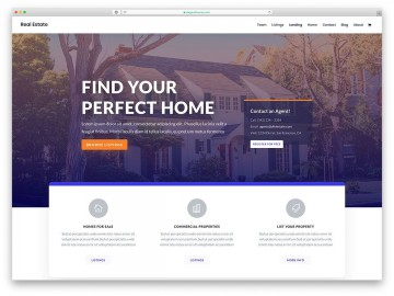 005 Formidable Real Estate Template Wordpres Idea  Homepres - Theme Free Download Realtyspace360