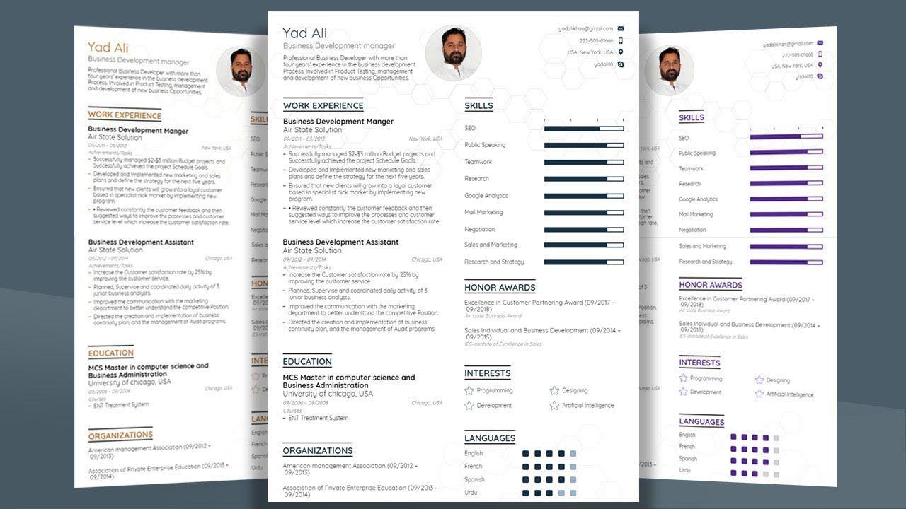 005 Formidable Resume Template Microsoft Word 2019 Design  FreeFull