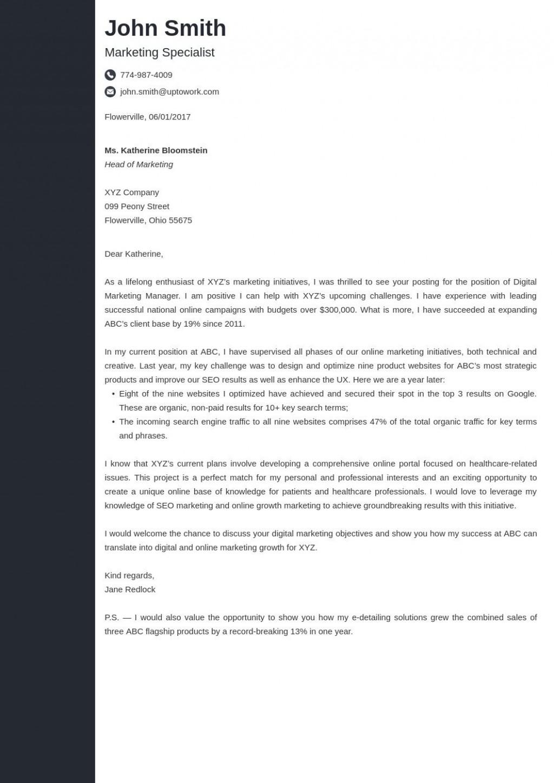 005 Formidable Sample Cover Letter Template  For Administrative Assistant Best Job Application CvLarge