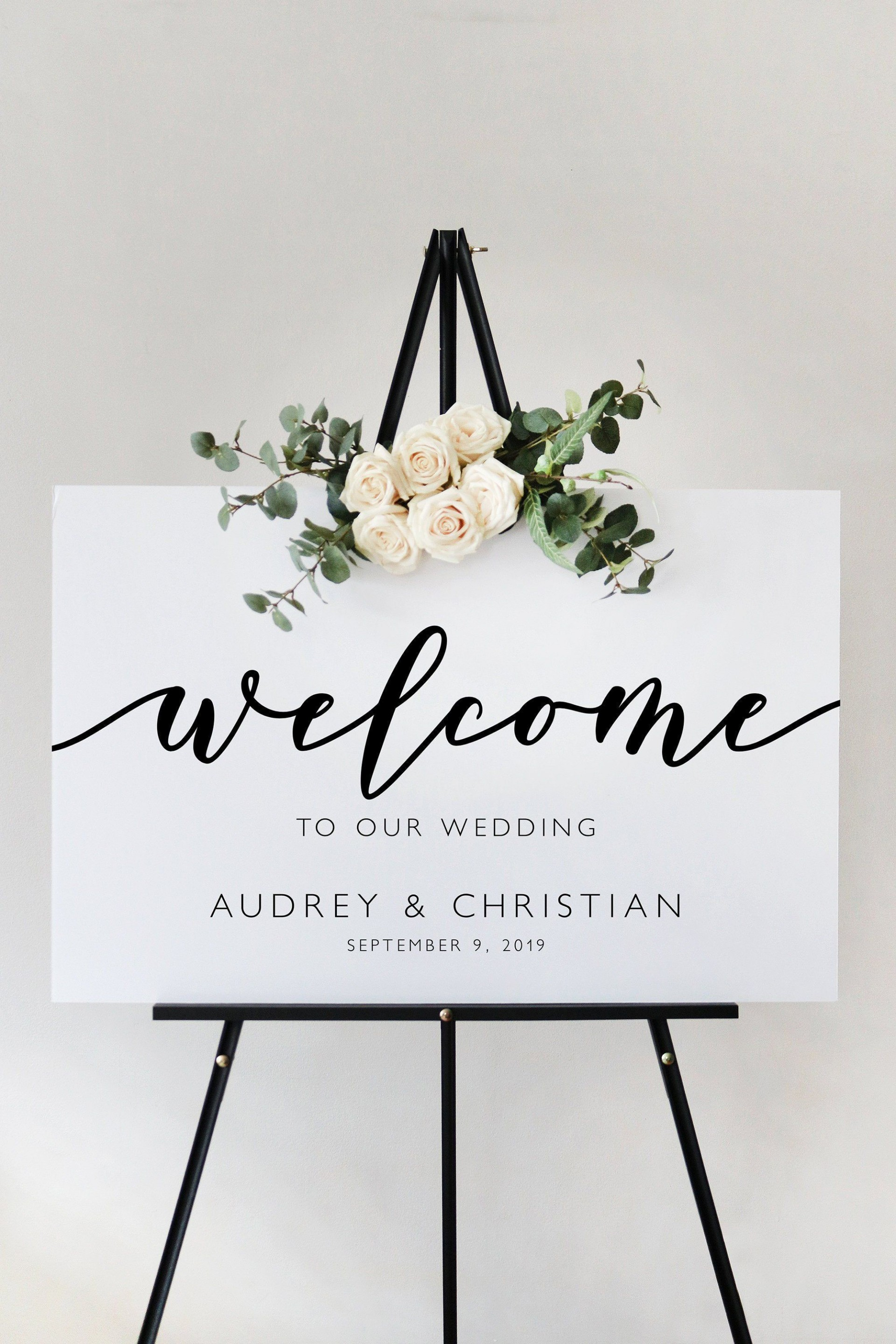005 Formidable Wedding Welcome Sign Printable Template Concept  Free1920
