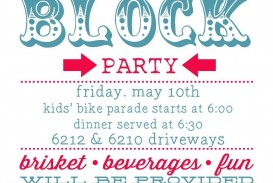 005 Frightening Block Party Flyer Template Highest Quality  Free