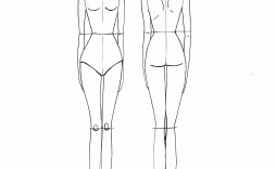 005 Frightening Body Template For Fashion Design Inspiration  Female Male Human