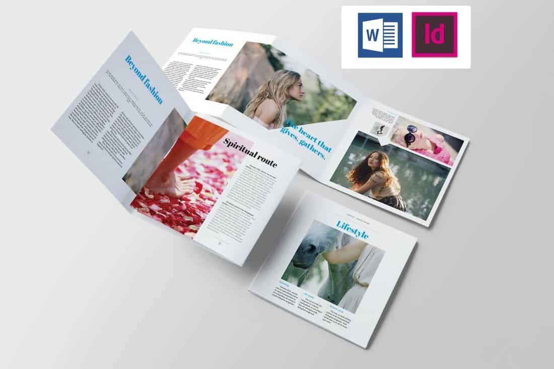 005 Frightening Brochure Template For Wordpad Photo  FreeFull