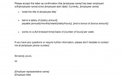 005 Frightening Confirmation Of Employment Letter Template Nz Image