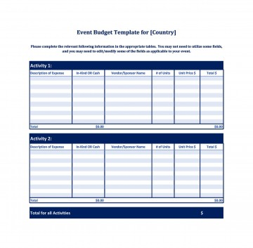 005 Frightening Event Planner Budget Template Excel High Resolution  Party Planning Spreadsheet360