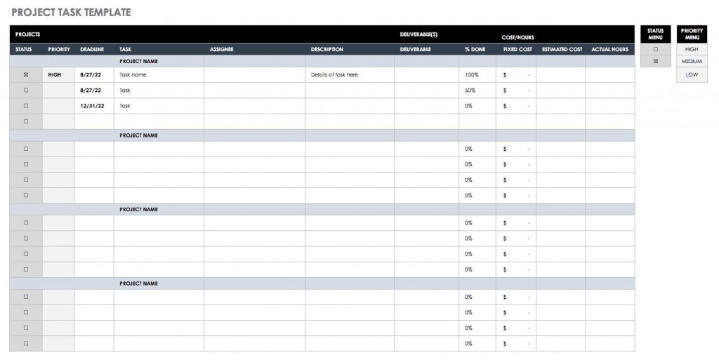 005 Frightening Excel Task Tracker Template High Def  Team Download TimeLarge