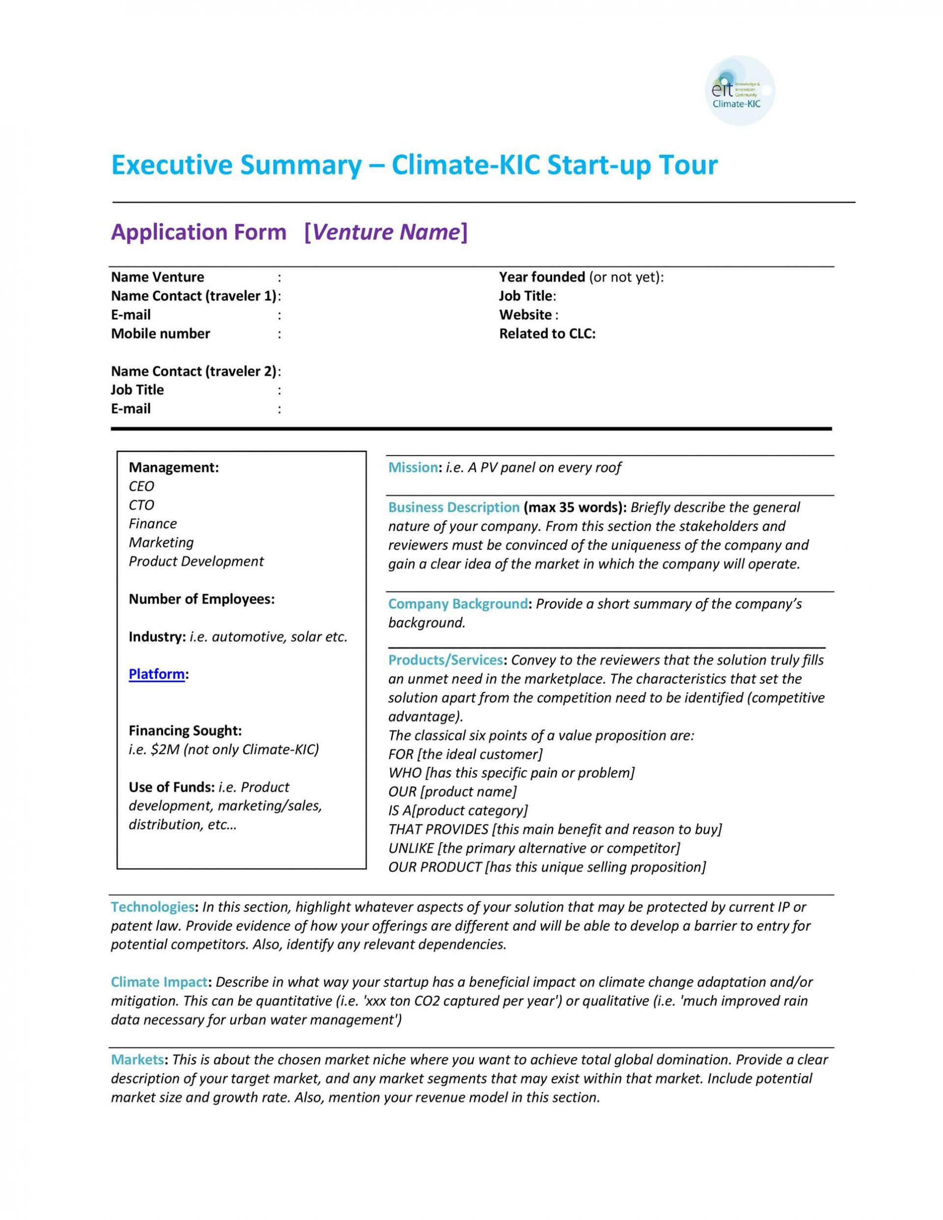 005 Frightening Executive Summary Template Doc High Def  Document Example Google1920