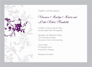 005 Frightening Free Download Wedding Invitation Template For Word Idea  Microsoft Indian320
