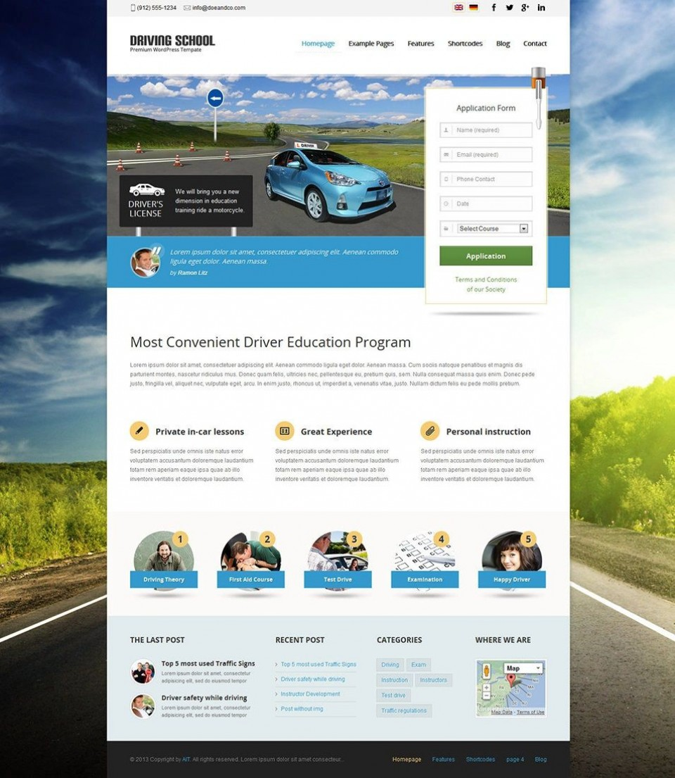 005 Frightening Free Dreamweaver Website Template Design  Mobile Adobe Cs6 Download960