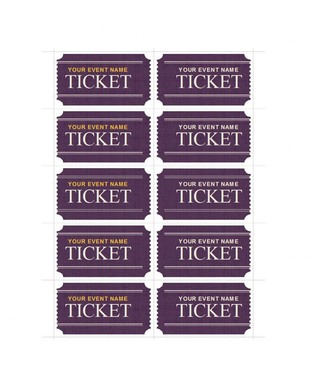 005 Frightening Fundraiser Ticket Template Free Sample  Printable Download Car WashLarge