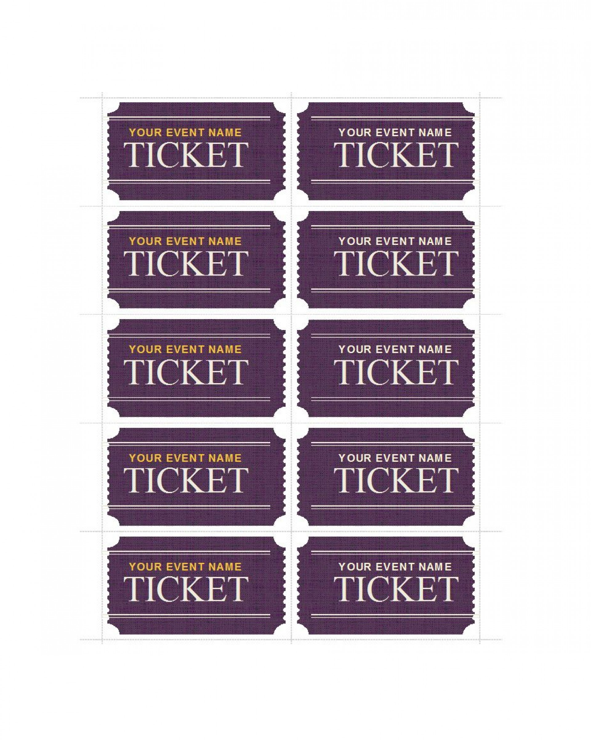 005 Frightening Fundraiser Ticket Template Free Sample  Printable Download Car Wash1920