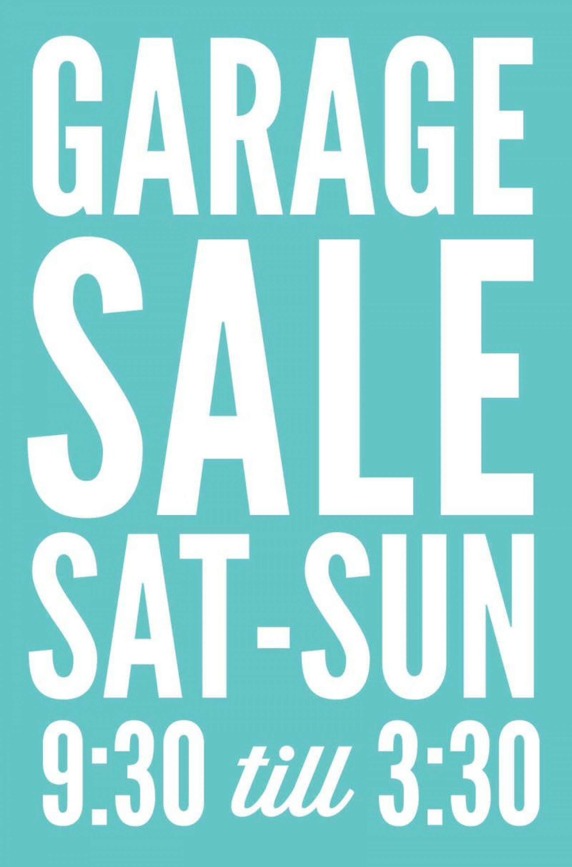 005 Frightening Garage Sale Sign Template Picture  Flyer Microsoft Word Community Yard Free Rummage1920