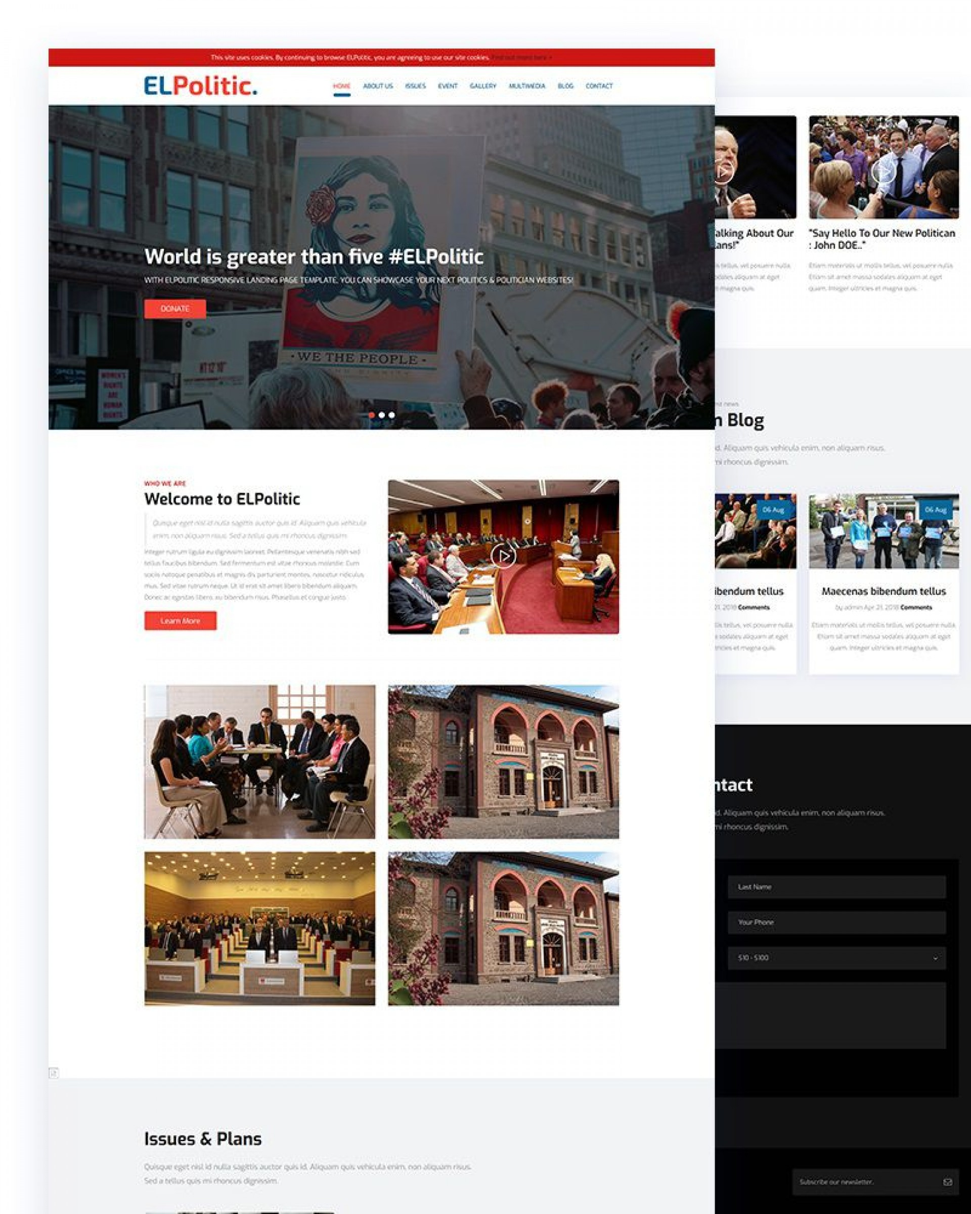 005 Frightening Government Website Html Template Free Download High Definition  With Cs1920