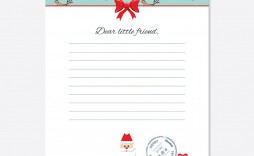 005 Frightening Letter From Santa Template High Def  Free Printable Word Doc Uk