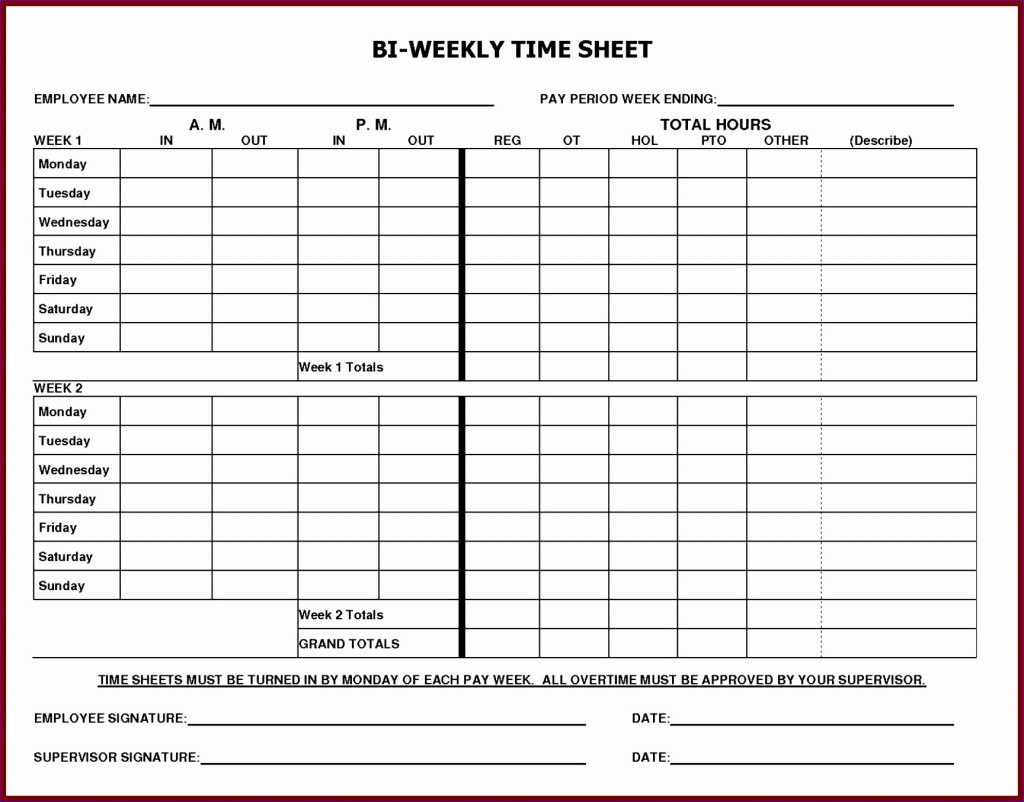 005 Frightening Monthly Timesheet Excel Template Example  Multiple Employee Free Semi-monthly 2020Large