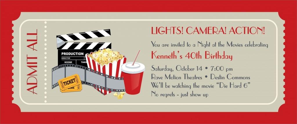 005 Frightening Movie Ticket Invitation Template Inspiration  Blank Free Download Editable PrintableLarge