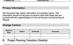 005 Frightening Project Transition Plan Sample Concept  Software Template Excel Download