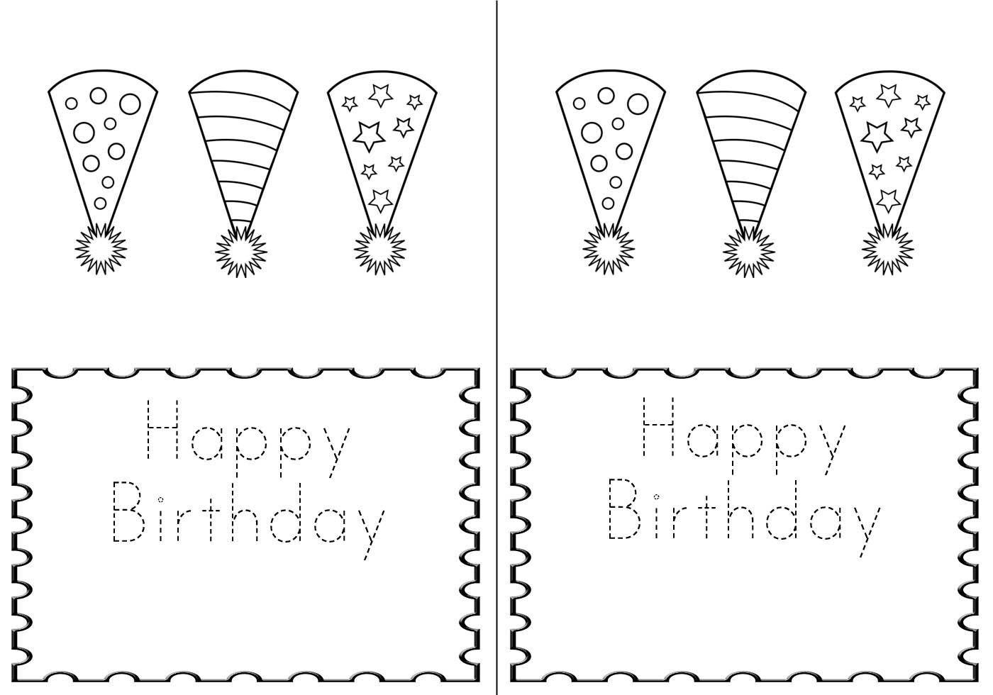 005 Frightening Quarter Fold Birthday Card Template Free High Def  DownloadFull
