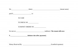 005 Frightening Rent Receipt Template Doc Photo  Rental Format Word Download India