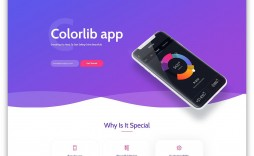 005 Imposing Bootstrap Mobile App Template High Resolution  Html5 Form 4