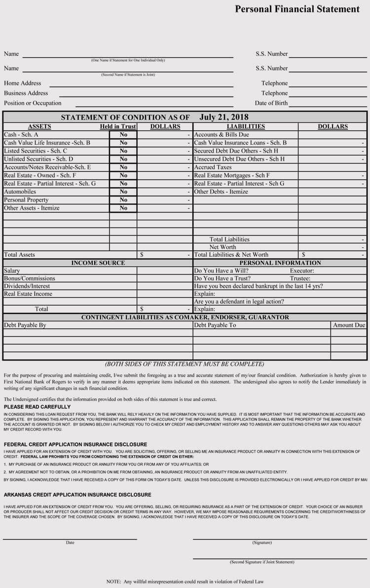 005 Imposing Busines Credit Application Template Excel Example  FormFull