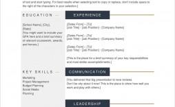 005 Imposing Free Printable Resume Template Download Image