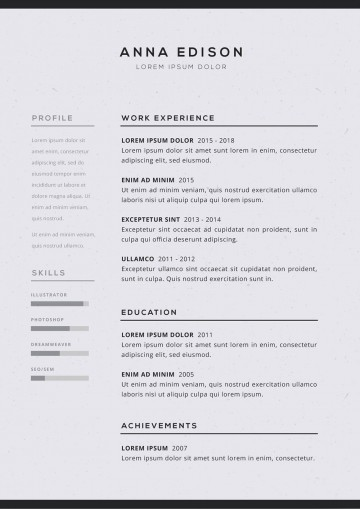 005 Imposing Free Simple Resume Template Microsoft Word Idea 360