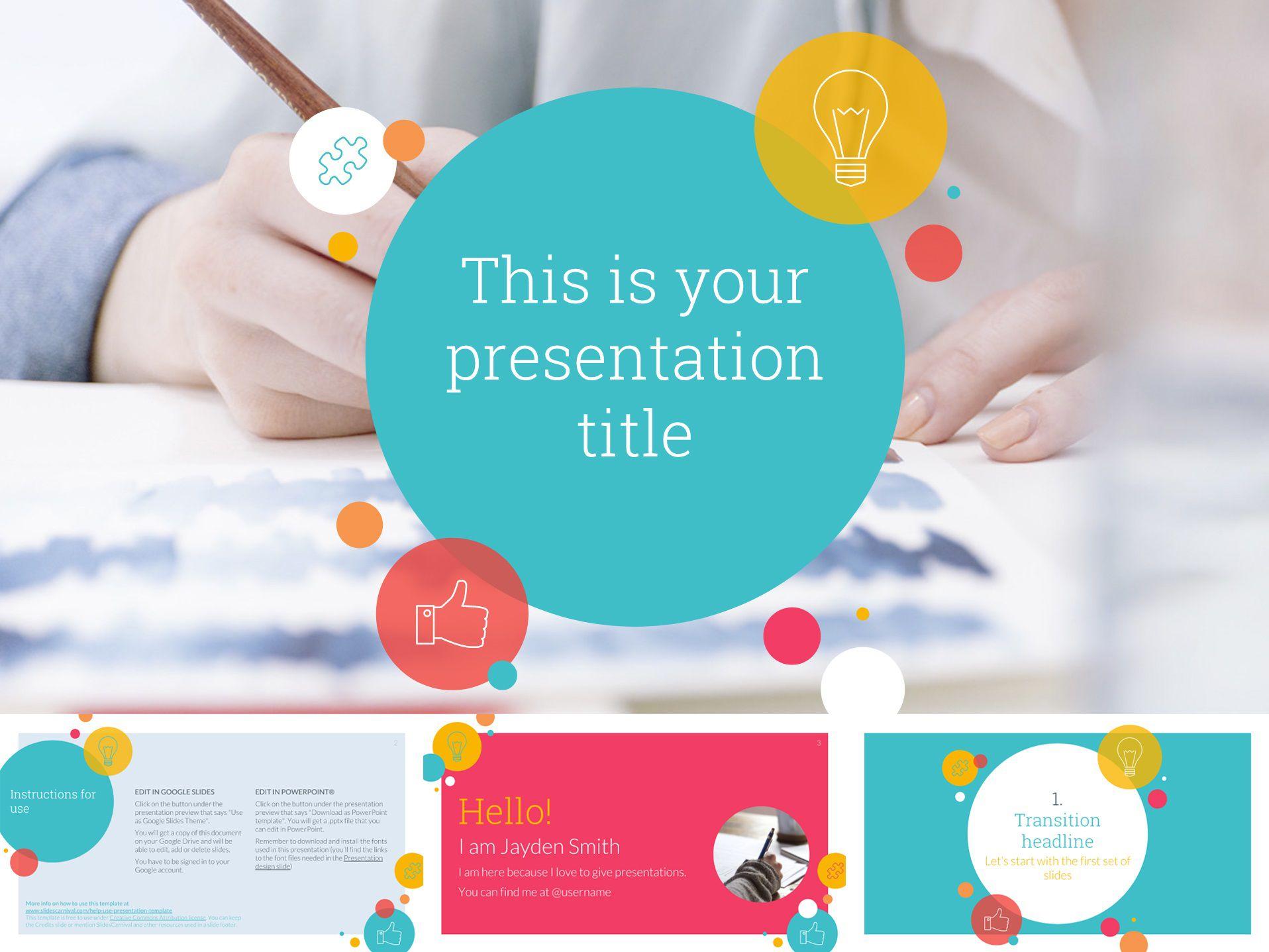 005 Imposing Google Doc Powerpoint Template Sample  Templates PresentationFull