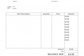 005 Imposing Invoice Template Pdf Fillable Picture  Commercial