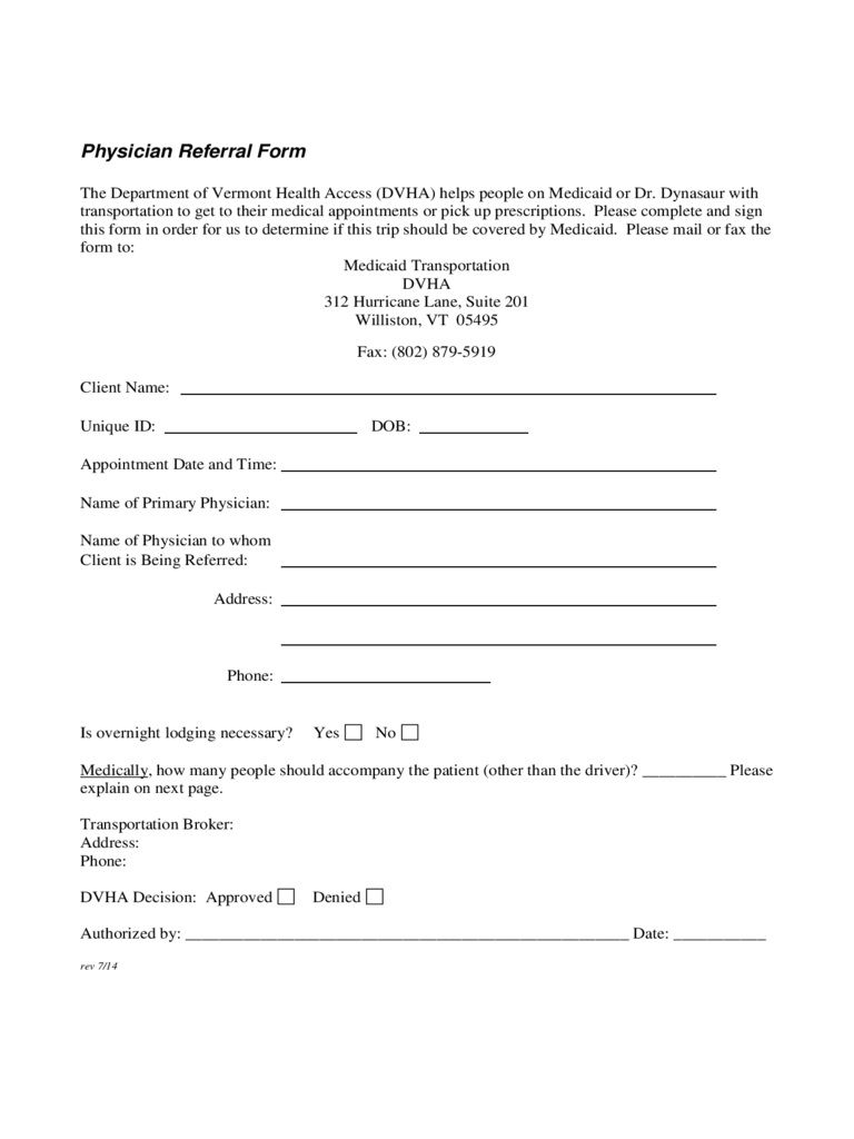 005 Imposing Medical Referral Form Template Highest Clarity  Dental Patient Doctor Free PhysicianFull