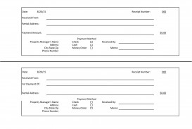 005 Imposing Rent Receipt Template Doc India High Def  House