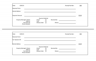 005 Imposing Rent Receipt Template Doc India High Def  House320